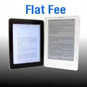 Flat Fee eBook Conversion with Publishing Services